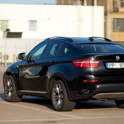 BMW X6 fotosesija