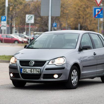 VW Polo fotosesija