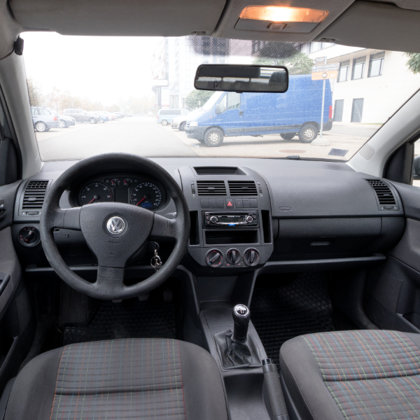 VW Polo salona fotosesija