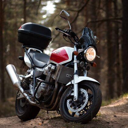 Motocikla fotosesija
