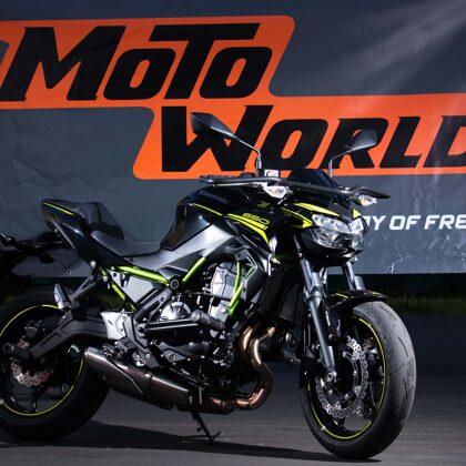 Motociklu fotosesija